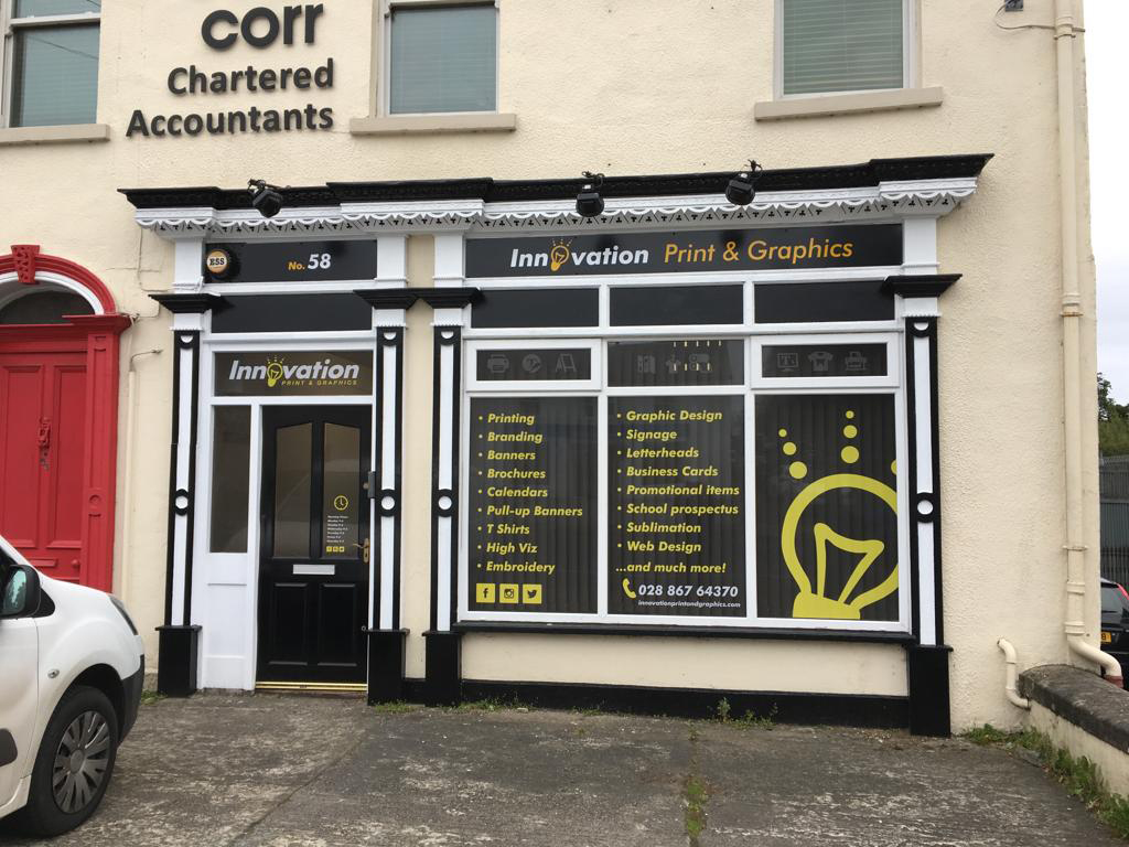 Innovation Print and Graphics Cookstown